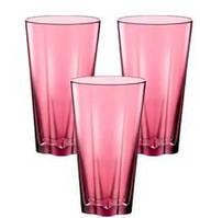 Набор стаканов Bormilio Rocco Hya Purple для напитков 3 шт. (300 мл)