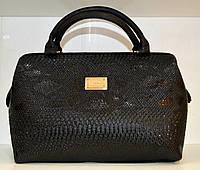 Сумка стильная женская Саквояж Fashion  Искусственная кожа Крокодил 17-543-5