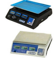 Весы торговые с калькулятором цены до 50кг.