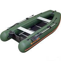 Моторно-гребная надувная килевая лодка Колибри КМ-330DSL Профи