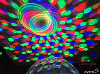 Цветомузыкальная установка YPS-D50 Хрустальный шар