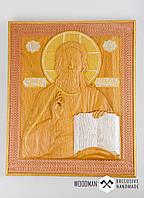 Икона из дерева, рельефная икона,эксклюзивный подарок