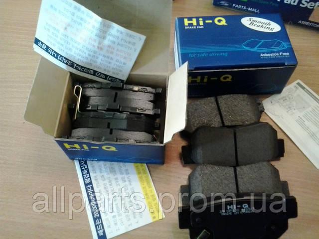 Пополнение склада - Тормозные колодки и диски SANGSIN BRAKE (HI-Q)