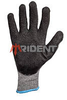 Перчатка TRIDENT 1115 с рифленым латексным покрытием