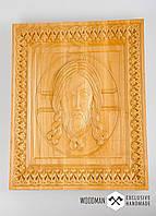 Икона из дерева, рельефная икона,эксклюзивный подарок, фото 1