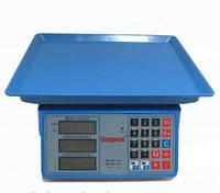 Торговые электронные весы до 40кг Спартак со счетчиком цены, фото 1