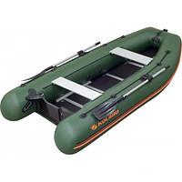 Моторно-гребная надувная килевая лодка Колибри КМ-360DSL Профи