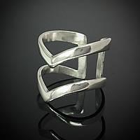 Серебряное фаланговое кольцо Стрела