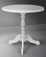 Деревянный обеденно-кофейный стол Одиссей, цвет ваниль