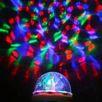 Диско лампа вращающаяся LED lamp