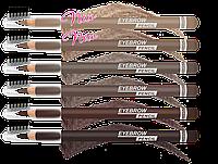 Карандаш для бровей LUXVISAGE Eyebrow Pencil