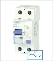 ПЗВ «DFS2 025-2/0,03-AC» тип AC, струм витоку 0,03А, ном.струм 25А