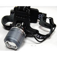Ліхтар налобний BL2199-2 99000W Білий + Ультрафіолет