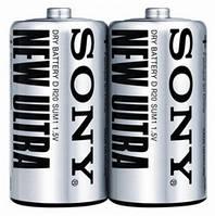 Батарейки Sony New Ultra D (R20)