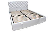 Кровать двуспальная Ковентри 1,8*2 и 1,8*1,9 м с подъемным механизмом
