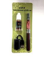 Электронная сигарета EGO CE4 Strong + Жидкость