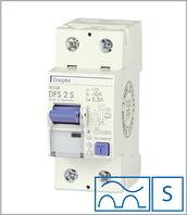 ПЗВ «DFS2 80-2/0,30-A S» селективний тип A, струм витоку 0,30А, ном.струм 80А