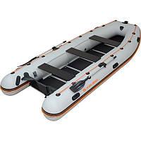 Моторно-гребная надувная килевая лодка Колибри КМ-400DSL Профи