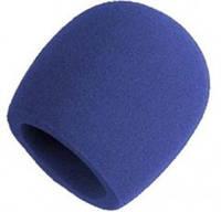Вітрозахист для мікрофона А2 синя