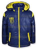 Куртка демисезонная Monster желтая, р.86,92