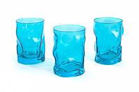 Набор стаканов Bormilio Rocco Sorgente Azzurro для напитков 3 шт. (460 мл)
