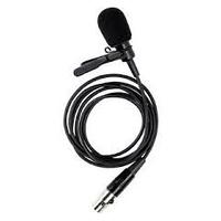 Черный петличный микрофон