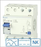 ПЗВ «DFS2 025-4/0,30-B NK» тип B, струм витоку 0,30А, ном.струм 25А