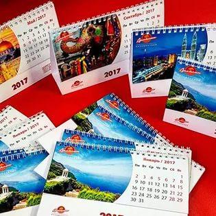 Настольный календарь на 2017 год распечатать в Днепре