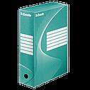 Архивные боксы Boxy 100 мм, емкость 1000 листов, белый ESSELTE, фото 5