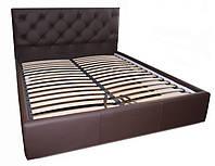 Кровать двуспальная Бристоль 1,4*2 и 1,4*1,9  м с подъемным механизмом