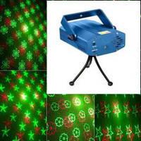 Cовмещенный гобо( 12 трафаретов )- феерверк лазер  Mini5