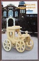 Сборная деревянная 3D модель автомобиля