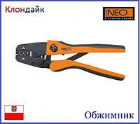 Обжимник для кабельных наконечников NEO 01-502