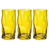 Набор стаканов Bormilio Rocco Sorgente Verde для напитков 3 шт. (300 мл)