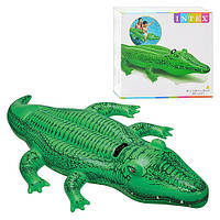 Надувная игрушка для плавания «Крокодил».