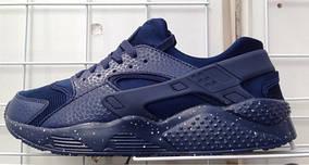 Мужские кроссовки хуарачи Nike huarache Черные