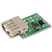 DC-DC повышающий (step-up) модуль: Uвх (0.9V ~ 5V), Uвых 5V 600MA USB разьем