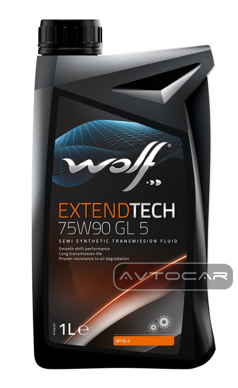 Масло WOLF EXTENDTECH 75W90 GL 5  ✔ емкость 1л. - Автокар в Киеве