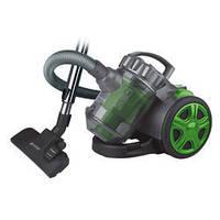 Пылесос Vitek VT-1890 GR Black/Green, 1800W, безмешковой, сухая уборка, объем пылесборника 2 л,  щётка для пыли, щелевая, для мягкой мебели,