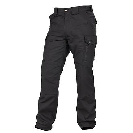 Мужские тактические штаны черные, фото 2