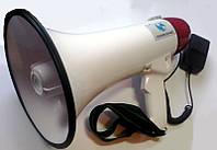 Мощный мегафон S-555 с сиреной