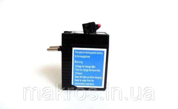 Аккумулятор для мегофона со встроенным зарядным устройством от сети 220 - «Макрос» в Киеве