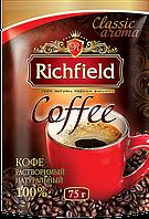 Кофе натуральный растворимый ТМ Richfeild, 75 г, фото 1
