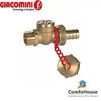 "Кран шаровой для слива воды Giacomini R608Y013 1/2"""