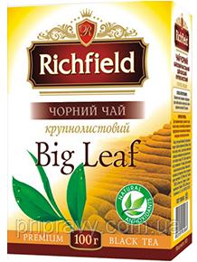 Чай черный крупнолистовой ТМ Richfield, 90г