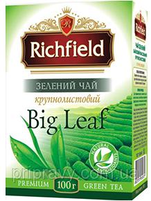 Чай зеленый крупнолистовой ТМ Richfield, 100г