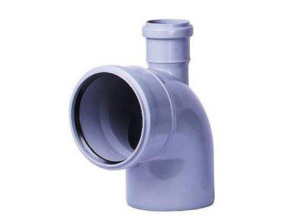 Колено для внутренней канализации, д. 110х50х90 верх