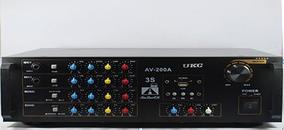 Усилитель мощности ― микшер, караоке  AMP 200A