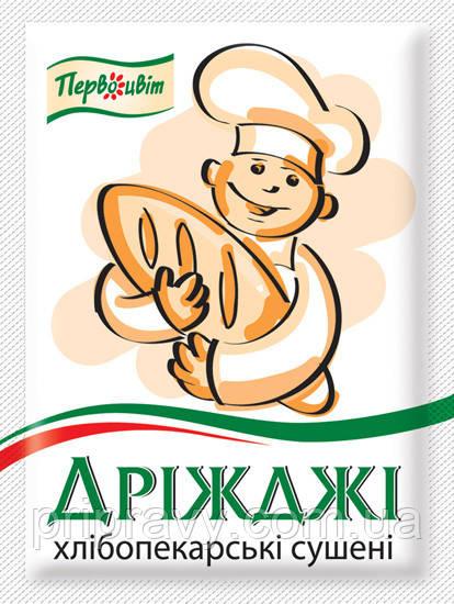 Дрожжи хлебопекарские сухие ТМ Первоцвіт, 10 г