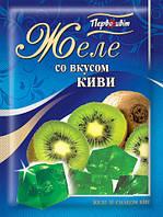 Желе со вкусом Киви ТМ Первоцвіт, 90 г, фото 1